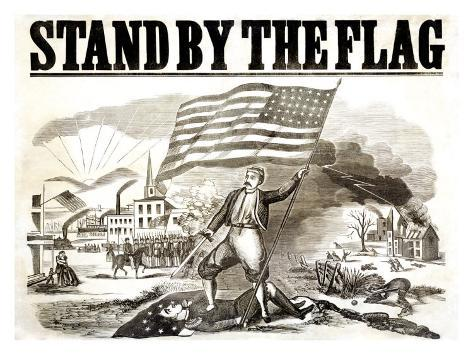 Stand by the Flag Giclee Print