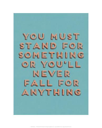 Stand for Something Giclee Print