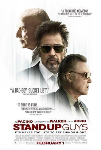 Stand Up Guys (Al Pacino, Alan Arkin, Christopher Walken) Movie Poster Impressão original