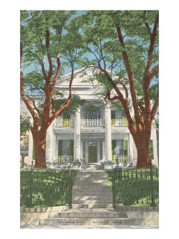 Stanton Hall, Natchez, Mississippi Art Print