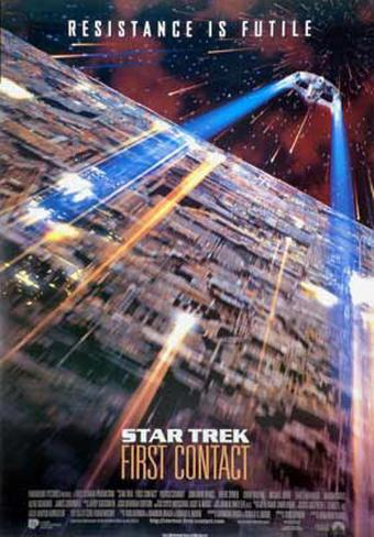 Star Trek - 1st Contact Poster