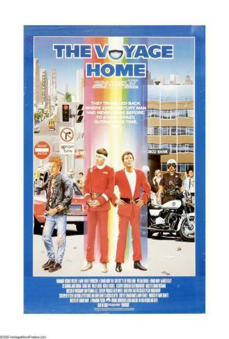 Star Trek 4: The Voyage Home Poster