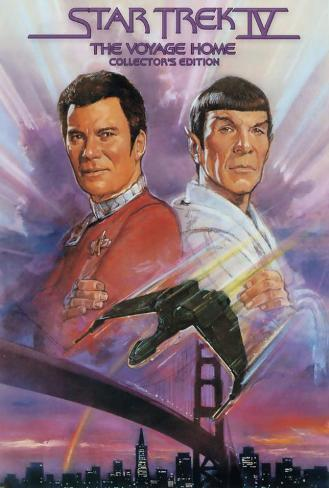 Star Trek 4: The Voyage Home Poster