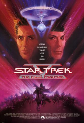 Star Trek 5: The Final Frontier Masterprint