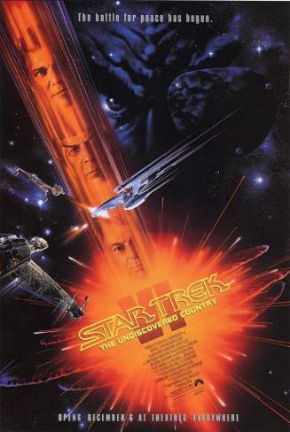 Star Trek 6: The Undiscovered Country Masterprint