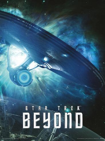 Star Trek Beyond- Enterprise Interstellar Flight Mini Poster