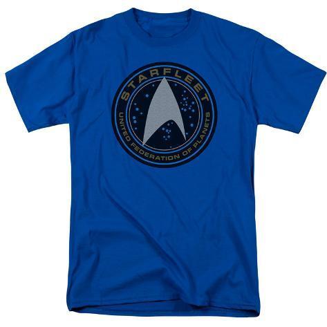 Star Trek Beyond- Starfleet Patch T-Shirt