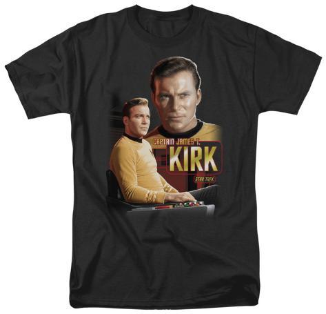 Star Trek-Captain Kirk T-Shirt