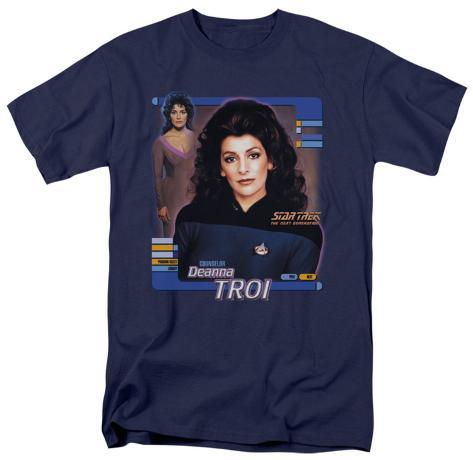 Star Trek-Deanna Troi T-Shirt