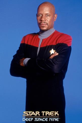 Star Trek: Deep Space Nine, Captain Sisko Stretched Canvas Print