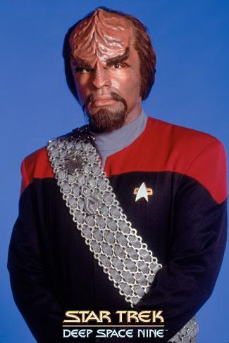 Star Trek: Deep Space Nine, Lt. Commander Worf Stretched Canvas Print