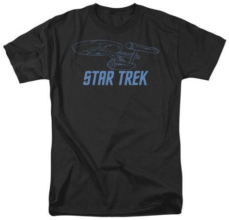 Star Trek-Enterprise Outline T-Shirt