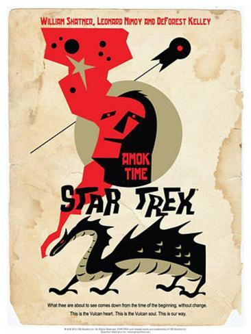 Star Trek Episode 30: Amok Time TV Poster Poster