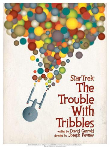 Star Trek Episode 44: The Trouble With Tribbles TV Poster Poster