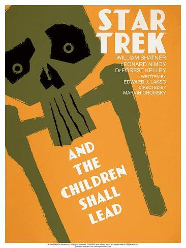 Star Trek Episode 59: And the Children Shall Lead Poster