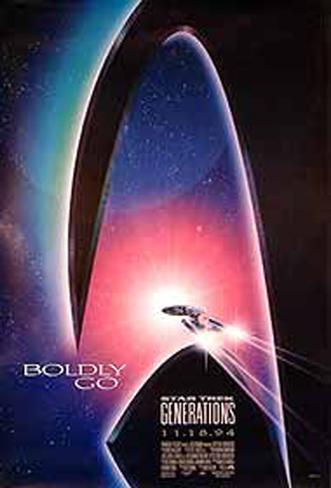 Star Trek Generations Original Poster