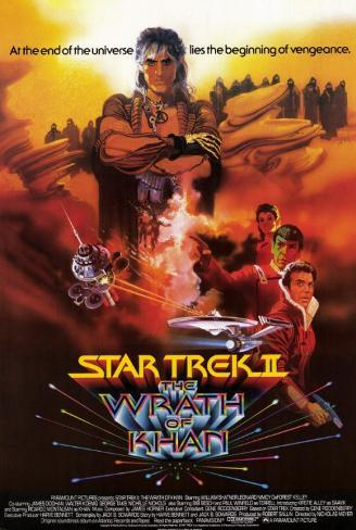 Star Trek II: The Wrath of Khan Masterprint