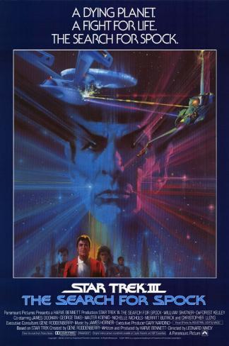 Star Trek III: The Search for Spock Masterprint