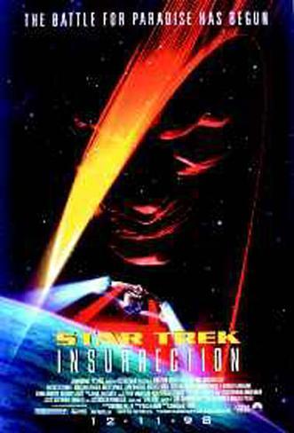 Star Trek Insurrection Original Poster