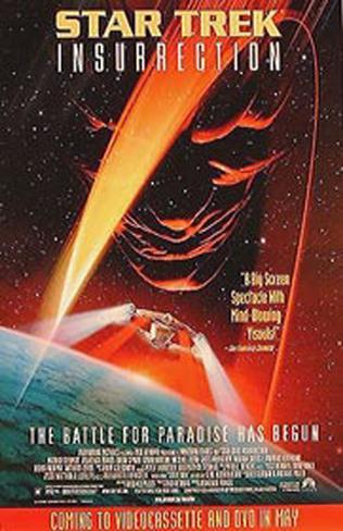 Star Trek Insurrection Original Poster
