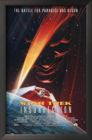 Star Trek: Insurrection Impressão artística emoldurada