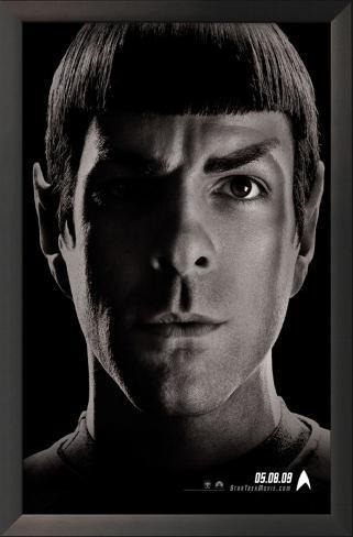 Star Trek - Jornada nas Estrelas Impressão artística emoldurada