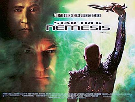 Star Trek Nemesis Original Poster