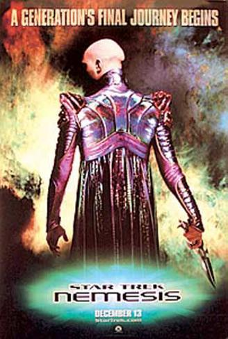 Star Trek Nemesis Pôster original