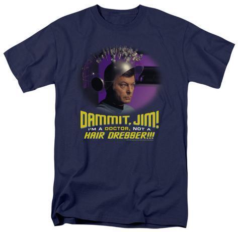 Star Trek - Not a Hair Dresser T-Shirt