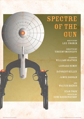 Star Trek - Spectre Of A Gun Vintage Style Television Poster Masterprint