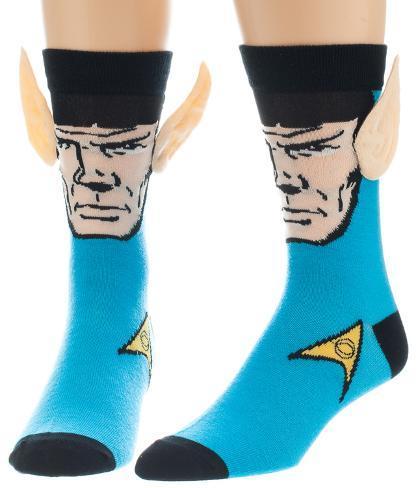 Star Trek - Spock Crew Sock with Ears Socks