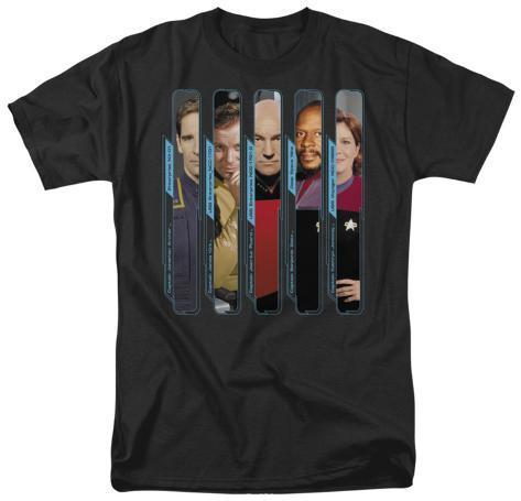 Star Trek-The Captains T-Shirt