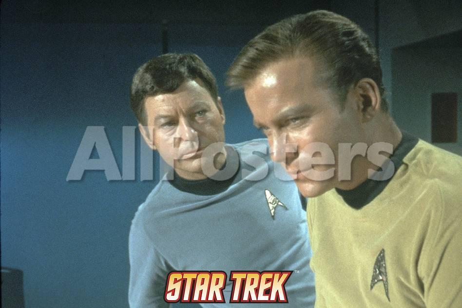 Star Trek: The Original Series, Captain Kirk and Dr  McCoy