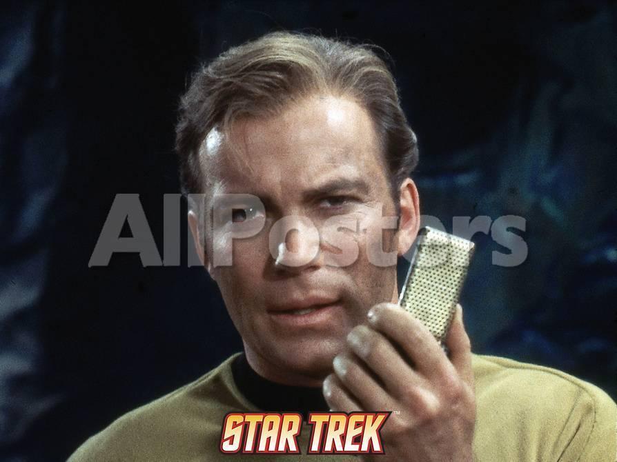 Star Trek: The Original Series, Captain Kirk with a Communicator