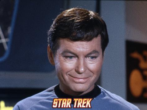 Star Trek: The Original Series, Dr. McCoy Stretched Canvas Print