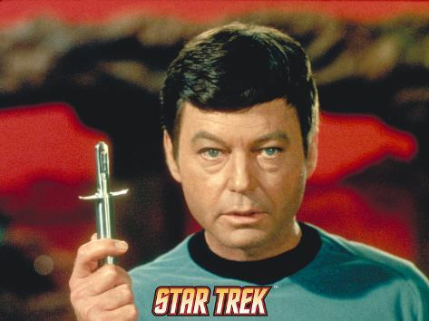 Star Trek: The Original Series, Dr. McCoy Stretched Canvas Print