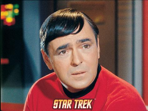 Star Trek: The Original Series, Scotty Stretched Canvas Print