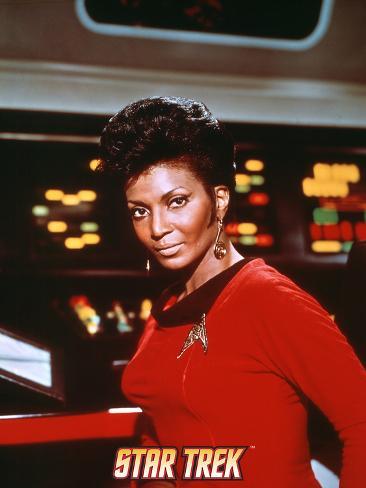 Star Trek: The Original Series, Uhura Stretched Canvas Print