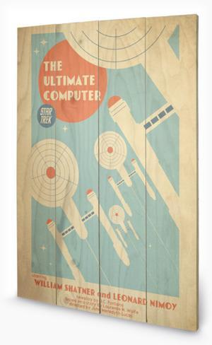 Star Trek – The Ultimate Computer Wood Sign Wood Sign