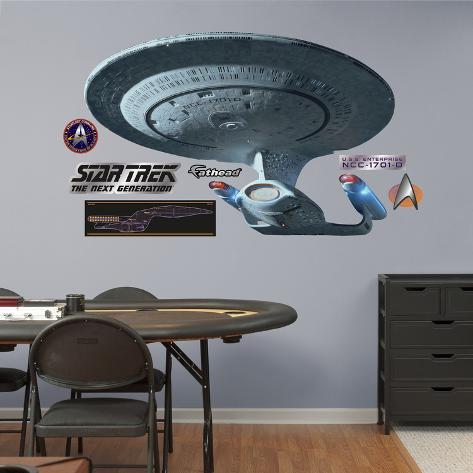 Star Trek  - U.S.S. Enterprise NCC-1701-D Wall Decal