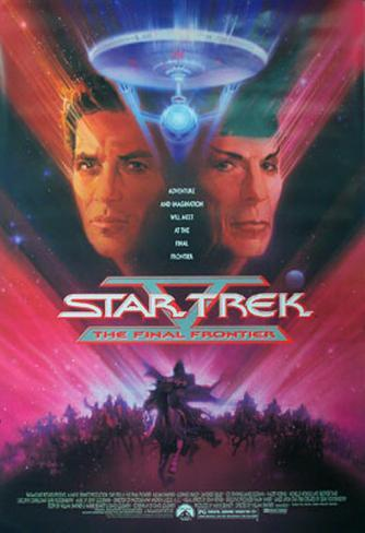 Star Trek V. La última frontera Póster original
