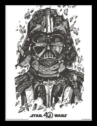 Star Wars 40-jarig jubileum - Darth Vader Verzamelaarsprint