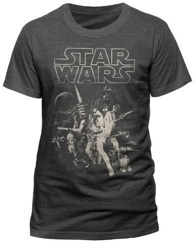 Star Wars - A New Hope One Sheet T-shirt
