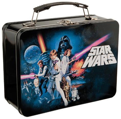 Star Wars - A New Hope Tin Lunch Box Lancheira