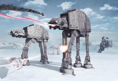 Star Wars - Battle of Hoth Wallpaper Mural