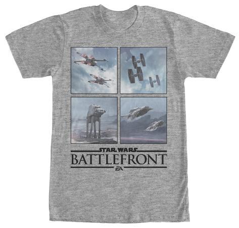 Star Wars Battlefront- Opposing Vehicles Camiseta