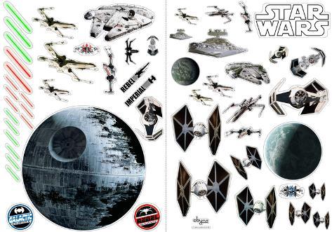Star Wars - Battleships Wall Decal