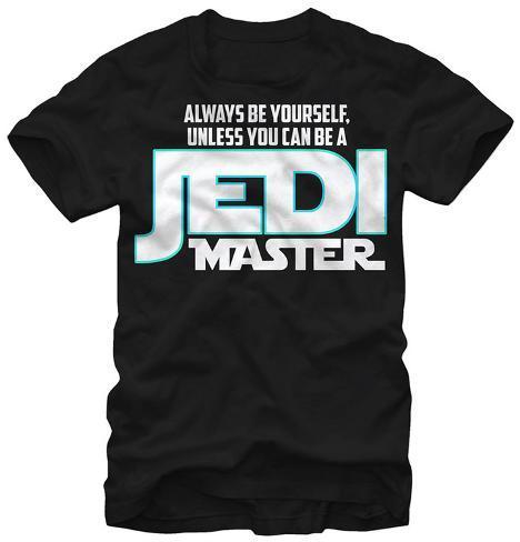 Star Wars- Be A Jedi Master T-Shirt