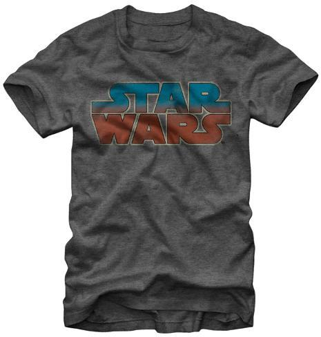 Star Wars- Blue Red Shift Logo Camiseta