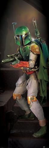 Star Wars- Boba Fett Door Poster